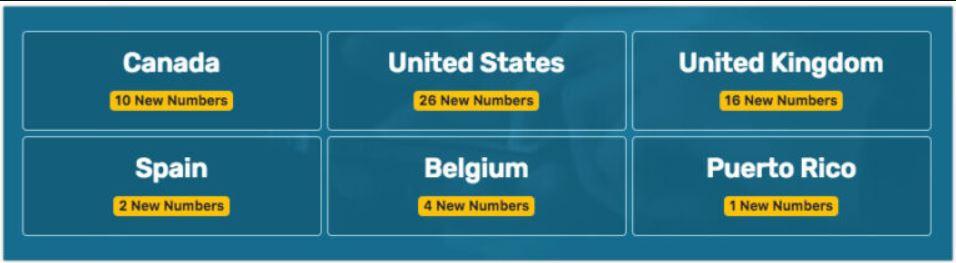ارقام امريكية : افضل 10 مواقع من أجل الحصول على رقم امريكي 12