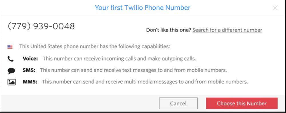 موقع Twilio من اجل الحصول على رقم امريكي مجاني