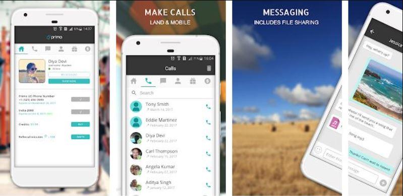 تطبيق بريمو افضل لعمل مكالمات مجانا