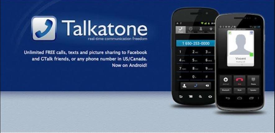 برنامج Talkatone للحصول على رقم امريكي