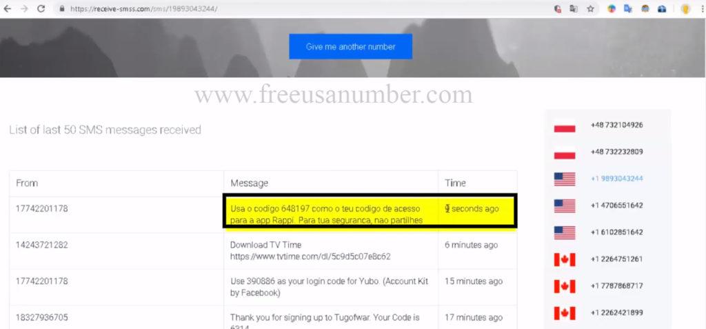 موقع يعطيك رقم هاتف وهمي لاستقبال الرسائل