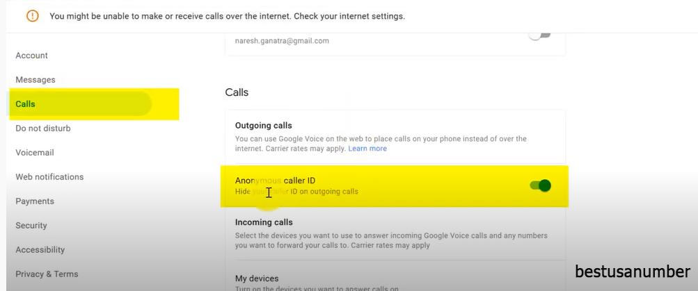 طرق إخفاء رقمك عند إجراء المكالمات 2021 5