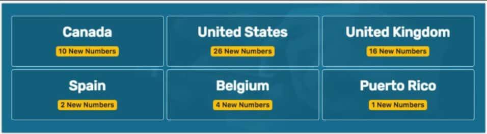 ارقام امريكية : افضل 10 مواقع من أجل الحصول على رقم امريكي 1
