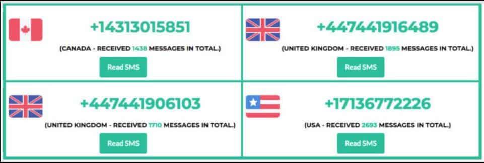ارقام امريكية : افضل 10 مواقع من أجل الحصول على رقم امريكي 2