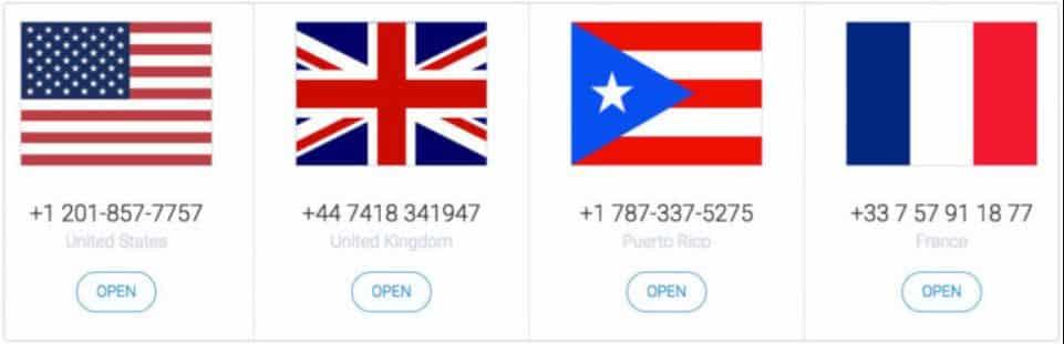ارقام امريكية : افضل 10 مواقع من أجل الحصول على رقم امريكي 9